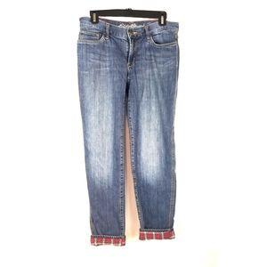 Eddie Bauer Size 2 Lined Jeans Boyfriend Relaxed